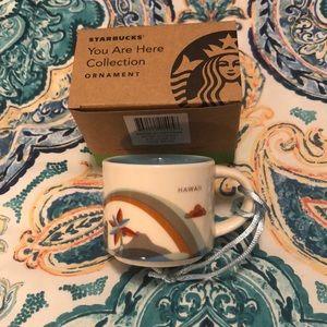 Starbucks Hawaii ornament or mini cup. ⭐️